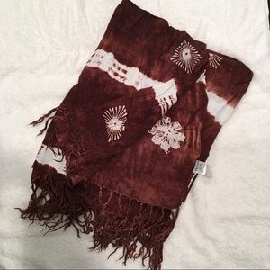 Other - Tied died wrap sarong cover-up